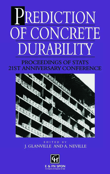 Prediction of Concrete Durability Proceedings of STATS 21st anniversary conference book cover