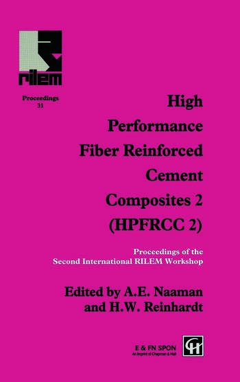 High Performance Fiber Reinforced Cement Composites 2 Proceedings of the International Workshop book cover