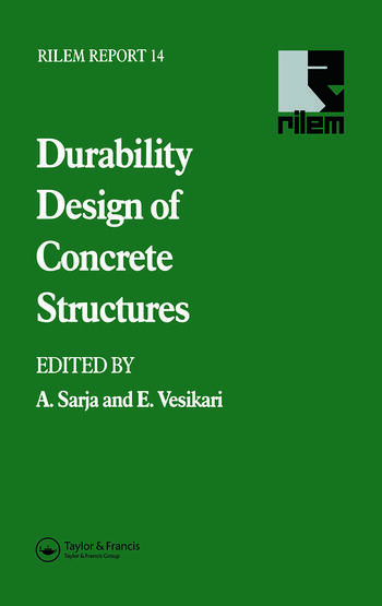 Durability Design of Concrete Structures book cover