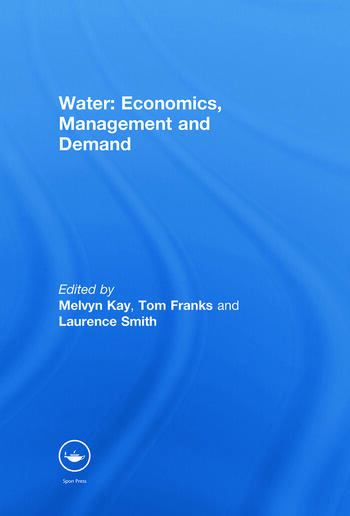 Water: Economics, Management and Demand book cover