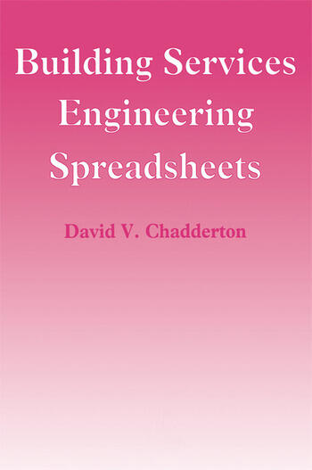 Building Services Engineering Spreadsheets book cover