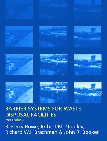 Barrier Systems for Waste Disposal Facilities book cover