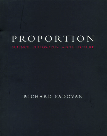 Proportion Science, Philosophy, Architecture book cover