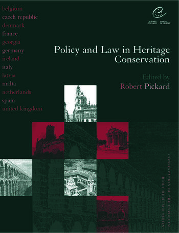 Policy and Law in Heritage Conservation book cover