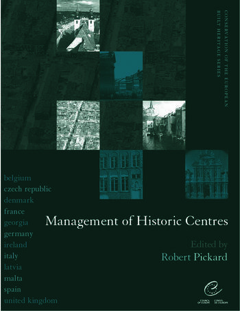 Management of Historic Centres book cover