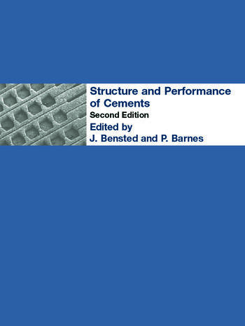 Structure and Performance of Cements book cover