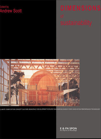 Dimensions of Sustainability book cover