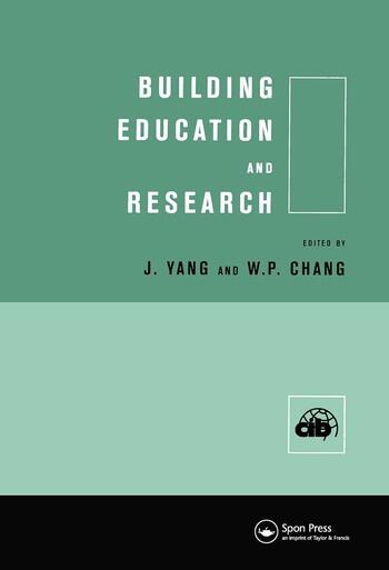 Building Education and Research book cover