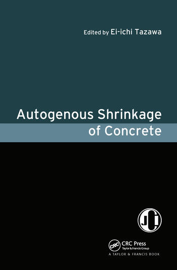 Autogenous Shrinkage of Concrete book cover