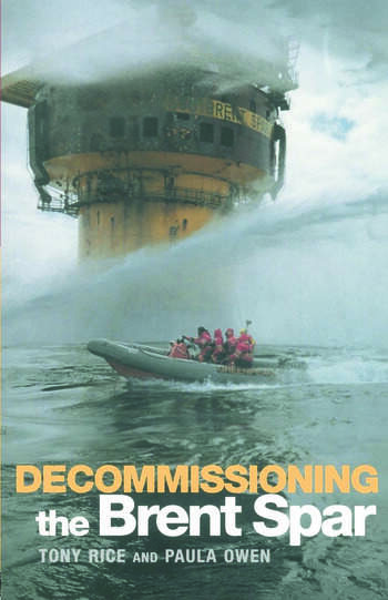 Decommissioning the Brent Spar book cover