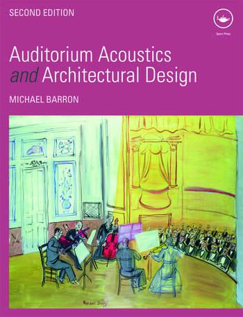 Auditorium Acoustics and Architectural Design book cover