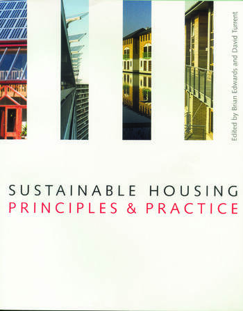 Sustainable Housing Principles and Practice book cover