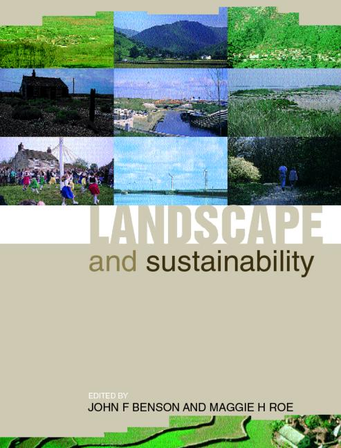 Landscape and Sustainability book cover