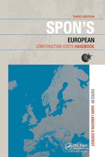 Spon's European Construction Costs Handbook book cover