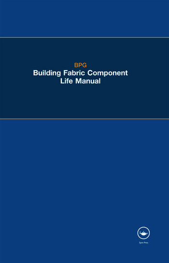 The BPG Building Fabric Component Life Manual book cover