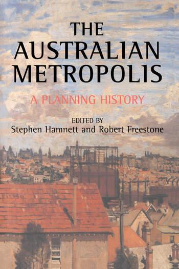 Australian Metropolis A Planning History book cover