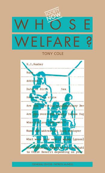 Whose Welfare book cover