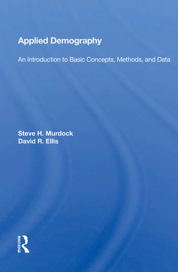 Applied Demography An Introduction To Basic Concepts, Methods, And Data book cover