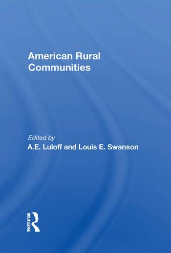 American Rural Communities book cover