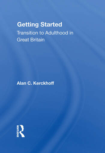 Getting Started Transition To Adulthood In Great Britain book cover