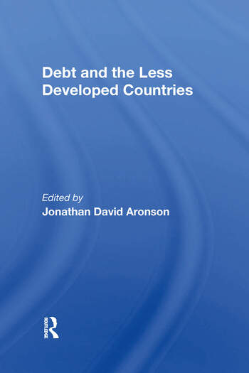 Debt And The Less Developed Countries book cover