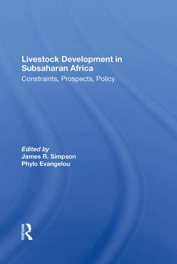 Livestock Development In Subsaharan Africa Constraints, Prospects, Policy book cover