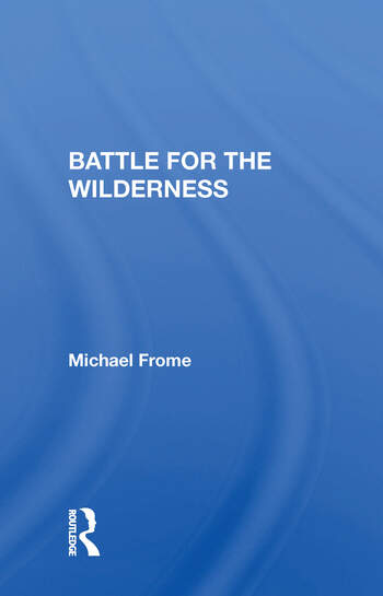 Battle For The Wilderness book cover