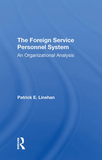 The Foreign Service Personnel System book cover