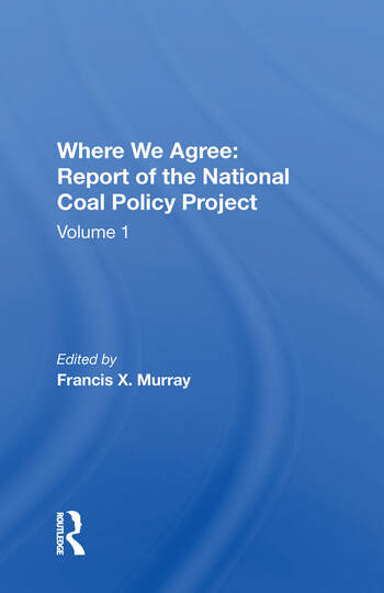 National Coal Policy Vol 1 book cover