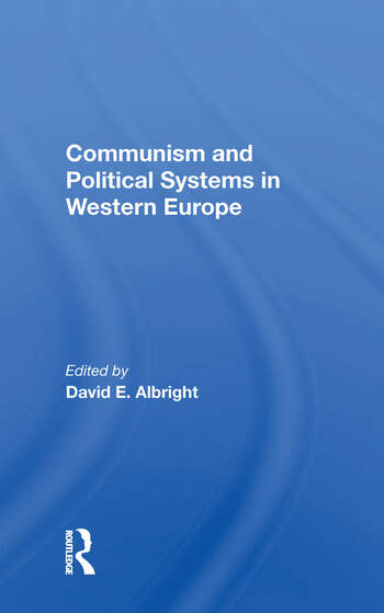 Communism And Political Systems In Western Europe book cover