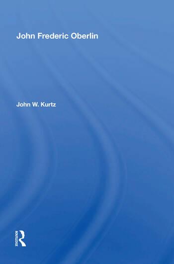 John Frederick Oberlin/h book cover
