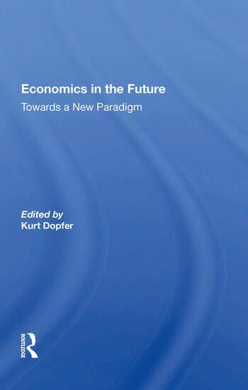 Economics In The Future book cover