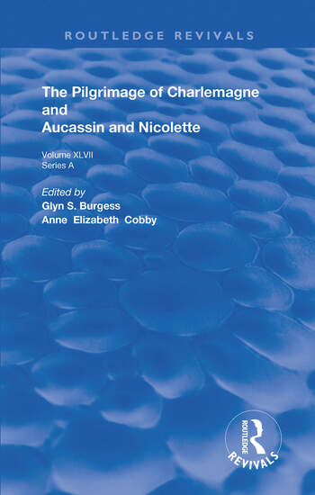 The Pilgrimage of Charlemagne and Aucassin and Nicolette book cover