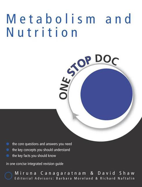 One Stop Doc Metabolism & Nutrition book cover
