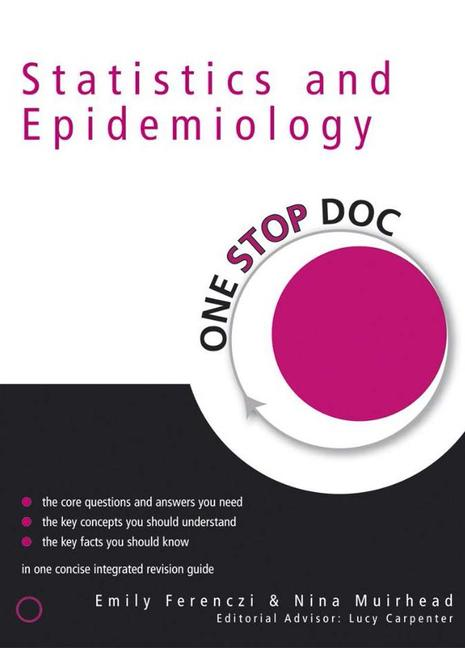 One Stop Doc Statistics and Epidemiology book cover