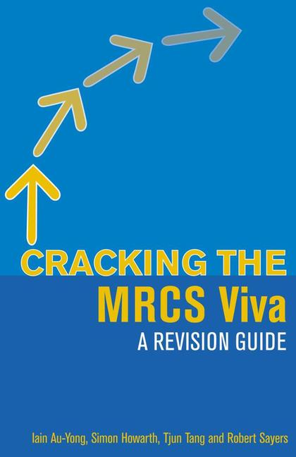 Cracking the MRCS Viva A revision guide book cover