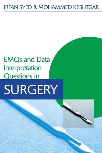 EMQs and Data Interpretation Questions in Surgery book cover