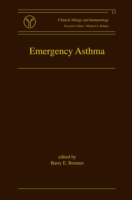 Emergency Asthma book cover
