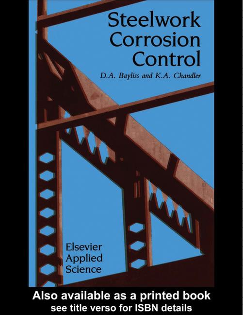 Steelwork Corrosion Control book cover