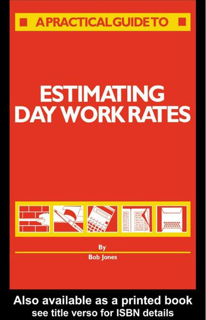 Estimating Day Work Rates book cover