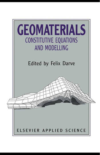 Geomaterials: Constitutive Equations and Modelling book cover