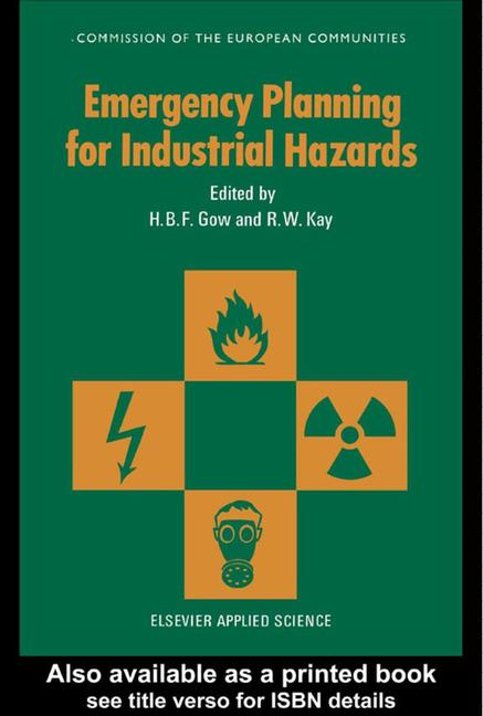 Emergency Planning for Industrial Hazards book cover