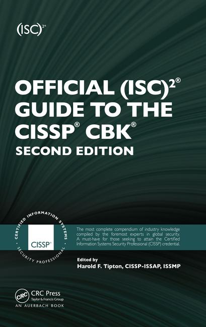 Official (ISC)2 Guide to the CISSP CBK book cover