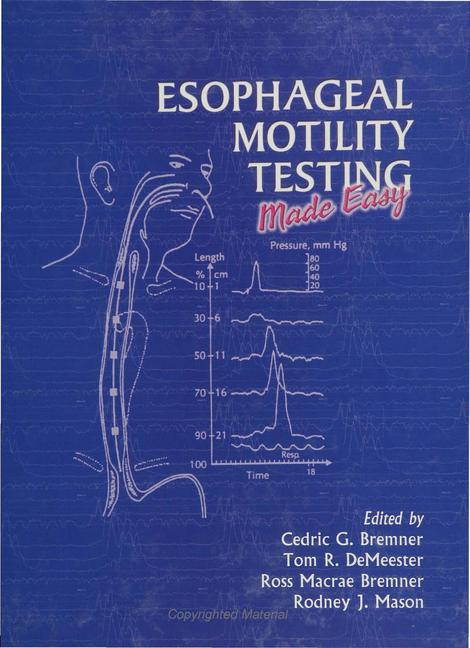 Esophageal Motility Testing book cover