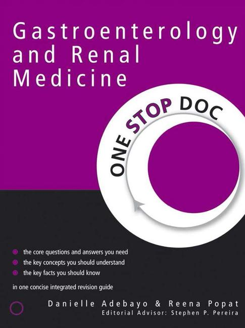 One Stop Doc Gastroenterology and Renal Medicine book cover
