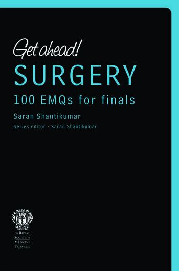 Get ahead! SURGERY100 EMQs for Finals book cover