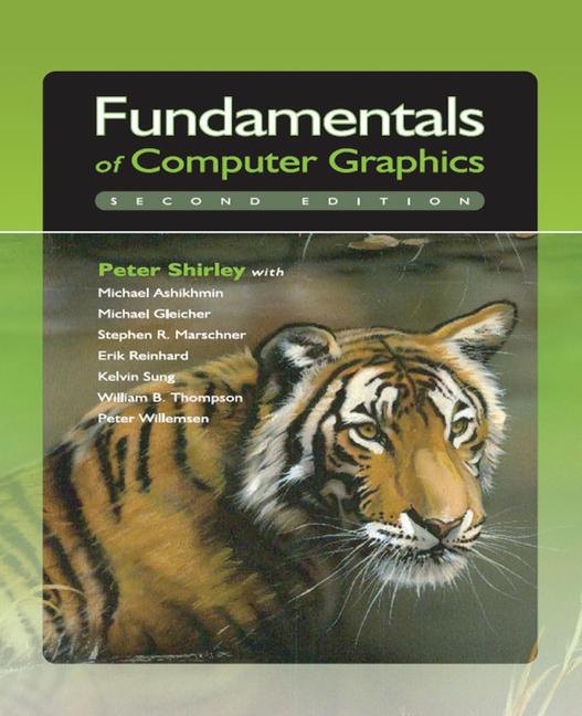 Fundamentals of Computer Graphics book cover