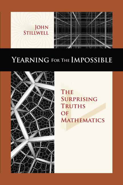 Yearning for the Impossible The Surprising Truths of Mathematics book cover