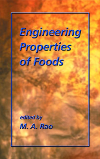 Engineering Properties of Foods book cover