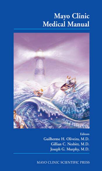 Mayo Clinic Medical Manual book cover